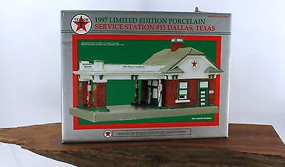 Texaco 1997 Limited Edition Porcelain Service Station #15 aaa791