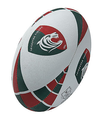 Clearance Line New Gilbert Rugby Leicester Tigers Supporter Rugby Ball Size 4