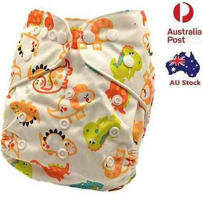New Pocket Modern Cloth Nappy Unisex MCN Reusable Adjustable Cloth Nappies (D18)