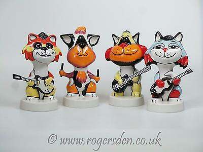 Lorna Bailey  Beatles Cats All Four Cats VERY VERY RARE  A Full Set of 4