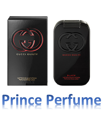 GUCCI GUILTY BLACK PERFUMED BODY LOTION - 200 ml