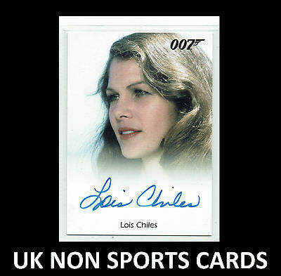 James Bond 50th Anniversary Autograph S2 Card Lois Chiles as Dr Holly Goodhead