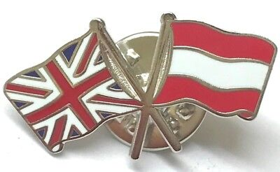 UK /& INDIA Friendship Flags Metal Lapel Pin Badge Great Britain /& Free Postage