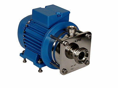KPA KN1 Hygienic centrifugal pump in 316L stainless steel