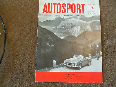 Autosport 1 March 1957 Chiltern Hills Trial Fishermen's Bend Melbourne Ian Raby