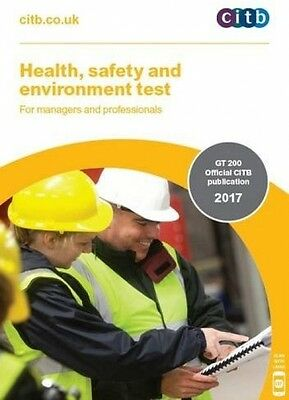 CITB Health, Safety And Environment Test For Managers & Professionals: GT 200/17