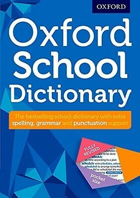 Oxford School Dictionary - Book by Oxford Dictionaries (Paperback, 2016)