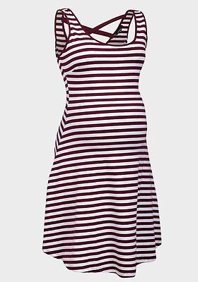 Ex New Look Maternity Stripe Dress, New Without Tags, Size 8, 10, 12, 14, 16