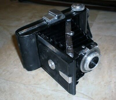 Vintage Agfa Billy I Folding Camera Agnar 6.3 105mm Lens
