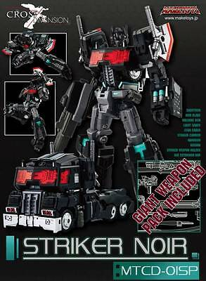 MakeToys MTCD-01SP Striker Noir w/ weapon pack aka Transformers Optimus Prime