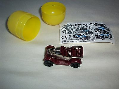 Vintage German Kinder Ferrero Surprise Egg Toy – German Car – Rare