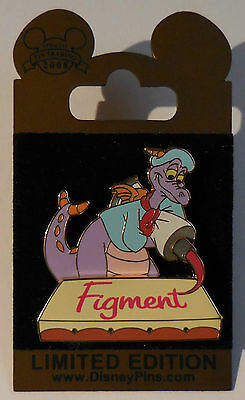 Disney Pin WDW Gold Card Figment Painting Pin LE1500