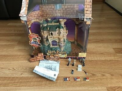 Harry Potter Deluxe Electronic Playset Mattel Discontinued Extremely Rare! Box