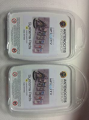 2 x ANTENOCITIS WORKSHOP SYSTEM PADS INFINITY