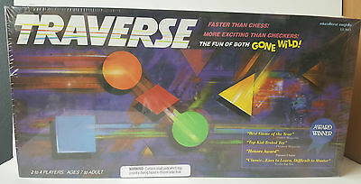1992 Vintage Traverse Board Game New and Sealed - Complete
