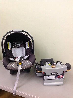 Chicco KeyFit 30 Infant Car Seat - Lilla (DISPLAY)