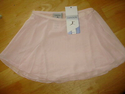 Danskin Pink Wrap Skirt Ballet Dance Girls Size Small 2 4 NWT New