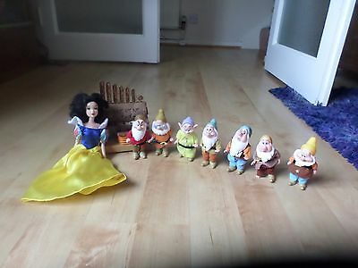 8    Doll Simba  Figure  Disney  Snow White and the Seven Dwarfs   Disney store
