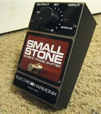 VINTAGE Electro Harmonix Small Stone Phase Shifter EH4800 USA Made Phaser Pedal