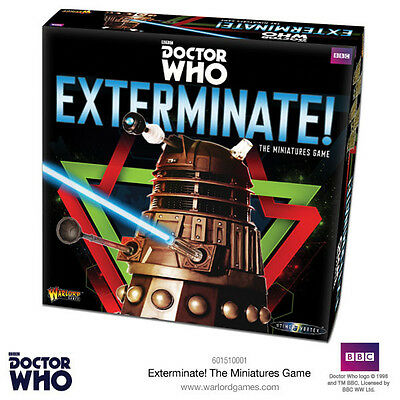 Doctor Who Into The Time Vortex - Exterminate! The Miniatures Game - Warlord