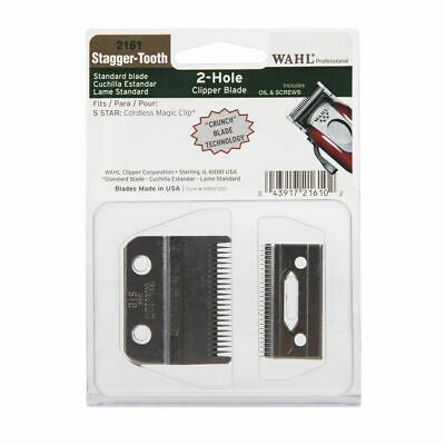 Wahl Stagger-Tooth Blade - For Cordless Magic Clip