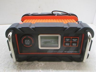 BLACK+DECKER 15 Amp Battery Charger W/ 40 Amp Engine Start (GOOD COND); 433-33S