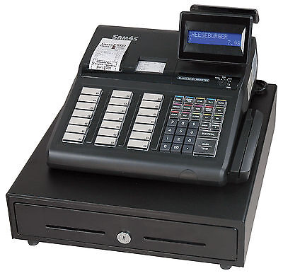 Sam4s Electronic POS Cash Register ER-945 - Double Printer - Great Condition