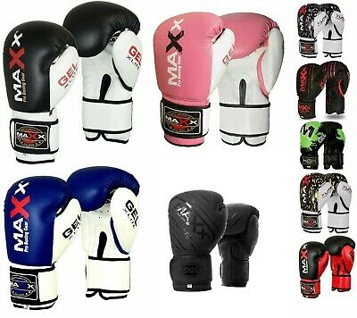 Maxx Kids Boxing Gloves Junior Punching Bag MMA Gel Muay thai Training Sparring