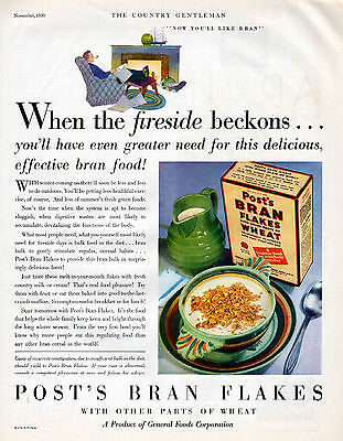 1930 Post's Bran Flakes ad --Effective ----z74