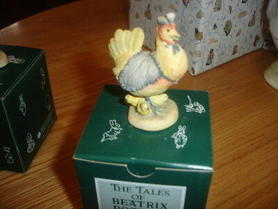 Border Fine Arts Beatrix Potter  Sally Henny Penny  Made In Uk   Bpm19