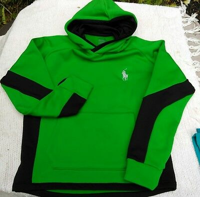 NEW Youth boys clothing size medium hoodie sweater POLO RALPH LAUREN