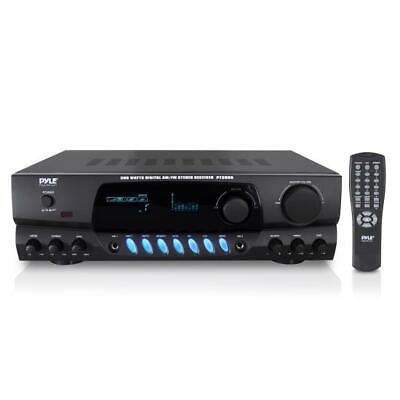 Pyle Pro PT260A 200 Watts Digital AM/FM Stereo Receiver