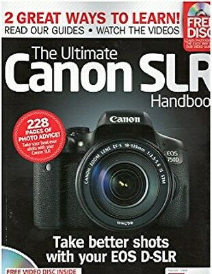 THE ULTIMATE CANON SLR HANDBOOK  With Free Disc