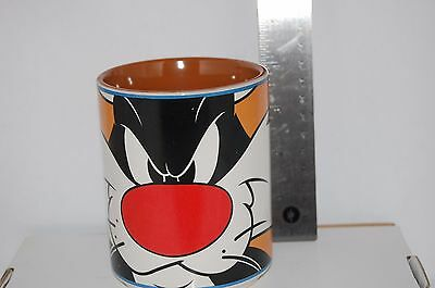 Angry Sylvester  Warner Bros.1998 Looney Tunes Coffee Mug