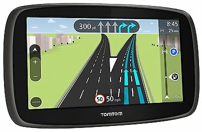 """TomTom Start 60, 6"""" Sat Nav with Western Europe Maps and Lifetime Map Updates"""