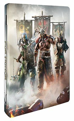 For Honor Limited Steelbook Metal Case ONLY (NO GAME)