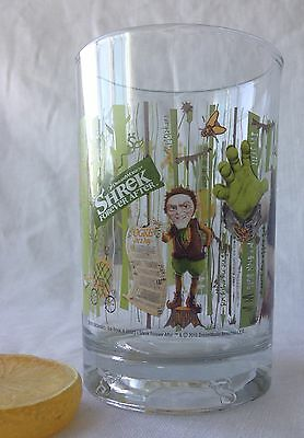 """Shrek Forever After 2010 Collectible Tumbler McDonald's 14 oz. 5"""" Tall"""
