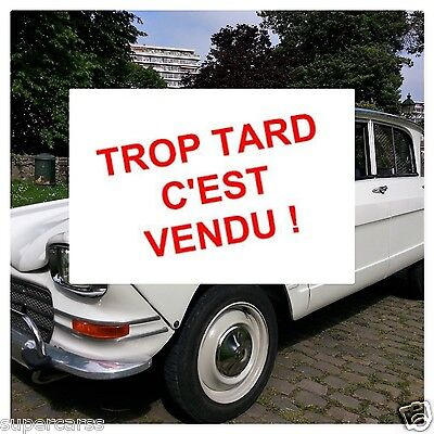 Oldtimer Citroën Ami 6 Berline *** VENDU-SOLD OUD ***