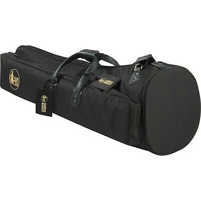 Gard Mid-Suspension 10.5 Bell Bass Trombone Gig Bag 25-MSK Black w/ Leather Trim