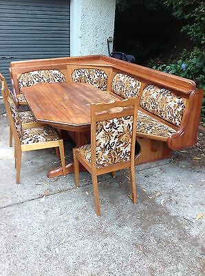 Austrian Style  Nook Kitchen Dinning Table And Chairs