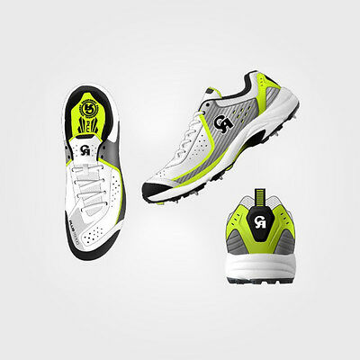 New boxed CA Cricket shoes spikes , Gripped + Spiked styles  sizes 8 , 9 , 10