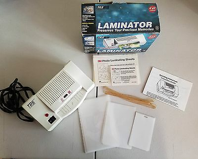 pull**TDE Systems Laminator 4x6 Size Laminating Pouch Sheets
