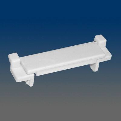 Set of 10 PCS WHITE WINDOW SASH WEEP HOLE COVER 1227White