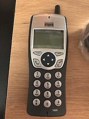 Cisco 7920 Wireless Cordless IP Phone  1560mAh battery