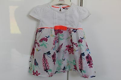 Ted Baker baby girl summer top tunic 6-9 months VGC