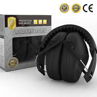 Shooting Safety Earmuffs Ear Defenders Hearing Protection 27dB Foldable (NEW)