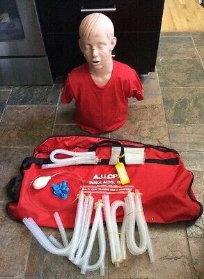 Simulaid Brad CPR Manikin with carrying cases And Accessories!