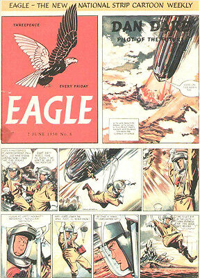 EAGLE UK 1950s CLASSIC DIGITAL COMIC COLLECTION  - BRITISH COMICS - VERY RARE