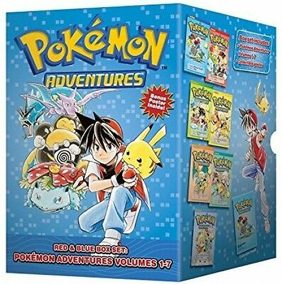 Pokmon Adventures Red and Blue Box Set: Set Includes Vol. 1-7 (Pokemon)