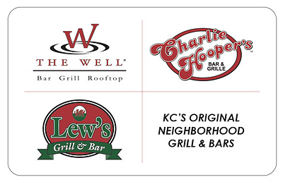 The Well Bar Grill & Rooftop eGift - $25 $50 or $100 - Email delivery
